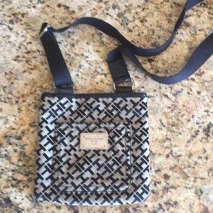 Hill figure cross body purse